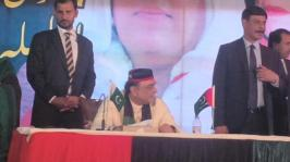 3 My President RT @jahanarawattoo Co Chairman @AAliZardari presiding #PPPFoundationDay @bbhuttozardari