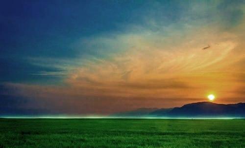 @mrPakistan Beautiful sunset at a Haripur village in the Khyber Pakhtunkhwa Province of Pakistan